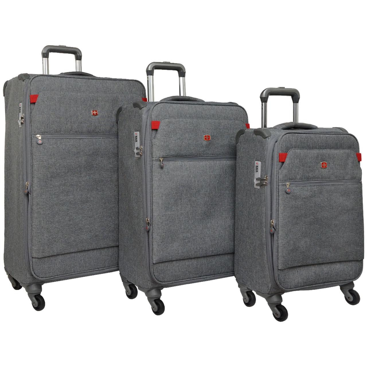 مجموعه سه عددی چمدان مدل LGHT 700379