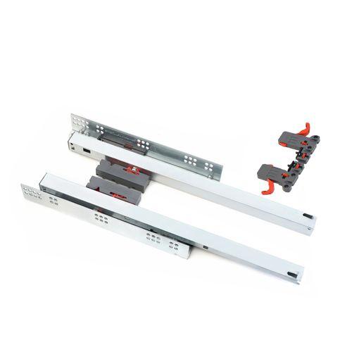 ریل کشو فشاری صامت مدل Smart Slide FF45 سایز 45 سانتیمتری بسته 2 عددی