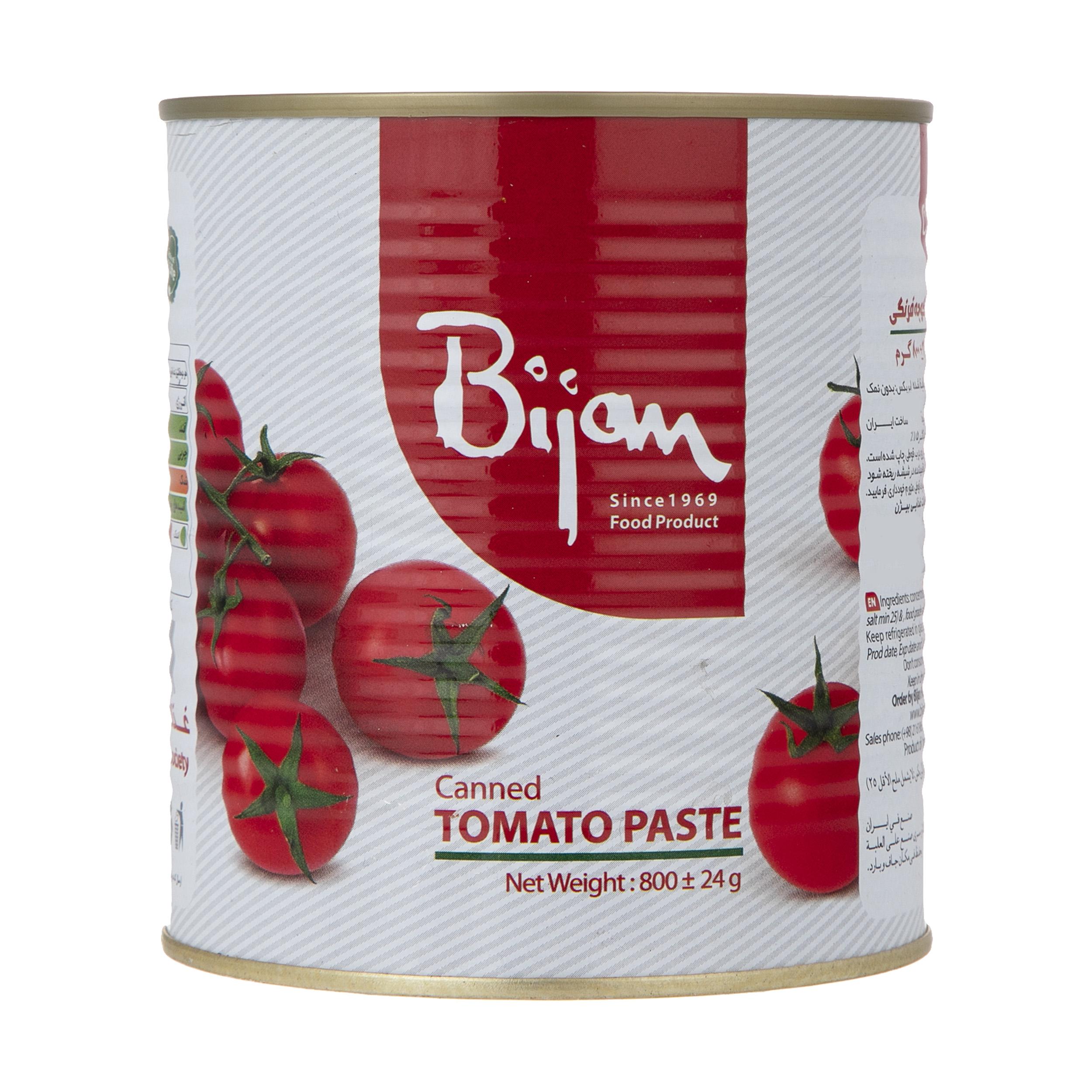 رب گوجه فرنگی بیژن - 800 گرم