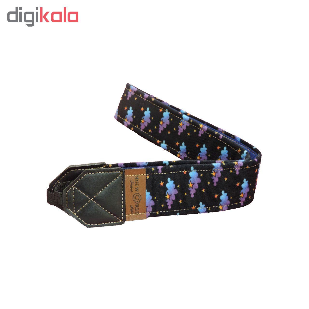بند دوربین دنیای دیجیتال طرح ابر و ستاره کد 6667