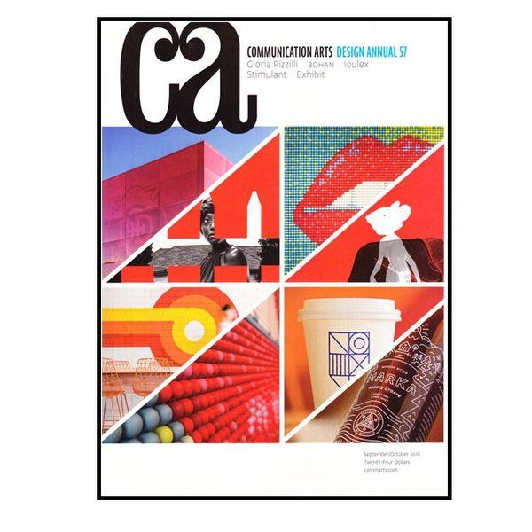 مجله Communication Arts اکتبر 2016