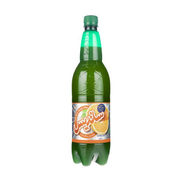 نوشیدنی پرتقال گازدار ساندیس حجم 1 لیتر