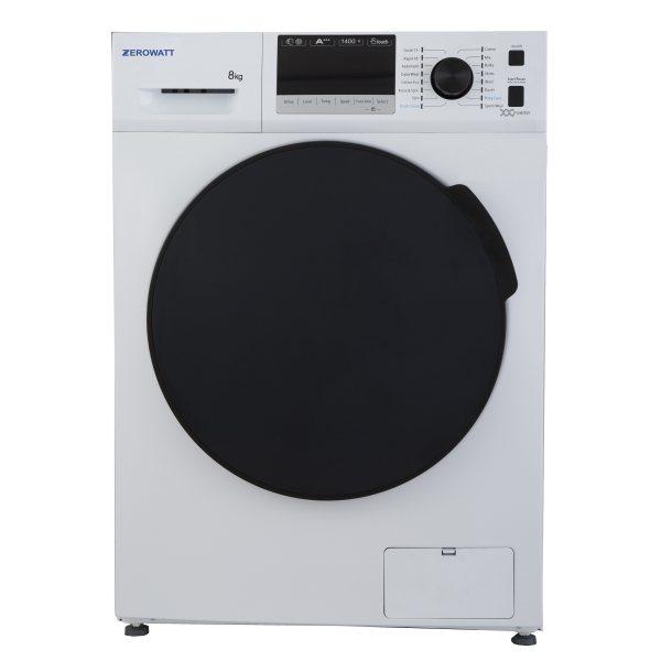 ماشین لباسشویی زیرووات مدل ZWT 8014 ظرفیت 8 کیلوگرم