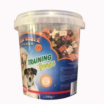 تشویقی سگ نوبی مدل training bones وزن 500 گرم