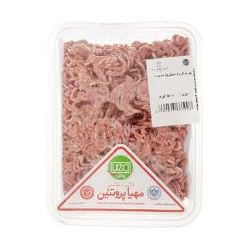 گوشت چرخ کرده مخلوط منجمد مهیا پروتئین مقدار 500 گرم