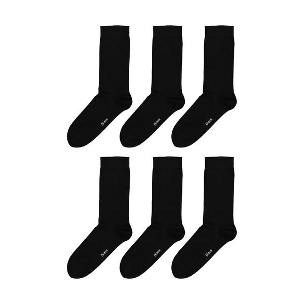 جوراب مردانه براوا کد 7575-2 بسته 6 عددی