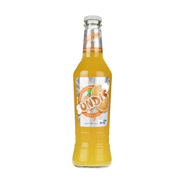 نوشیدنی پرتقال گازدار ساندیس حجم 300 میلی لیتر
