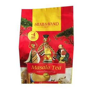 چای ماسالا شاهسوند بسته 20 عددی