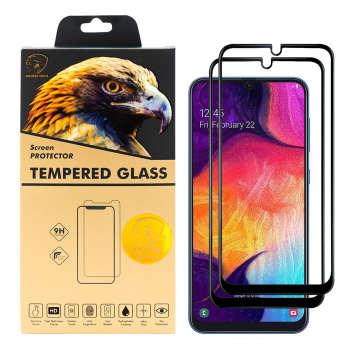 محافظ صفحه نمایش گلدن ایگل مدل DFC-X2 مناسب برای گوشی موبایل سامسونگ Galaxy A50 بسته دو عددی