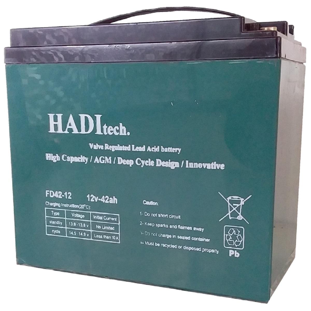 باتری ویلچر برقی هادیتک مدل FD12V42