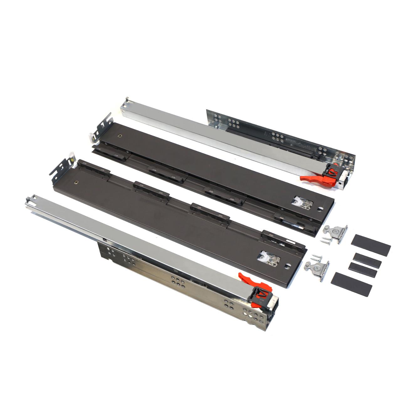 ریل کشو آرام بند صامت مدل Alphabox AT45 سایز 45 سانتیمتری بسته 2 عددی