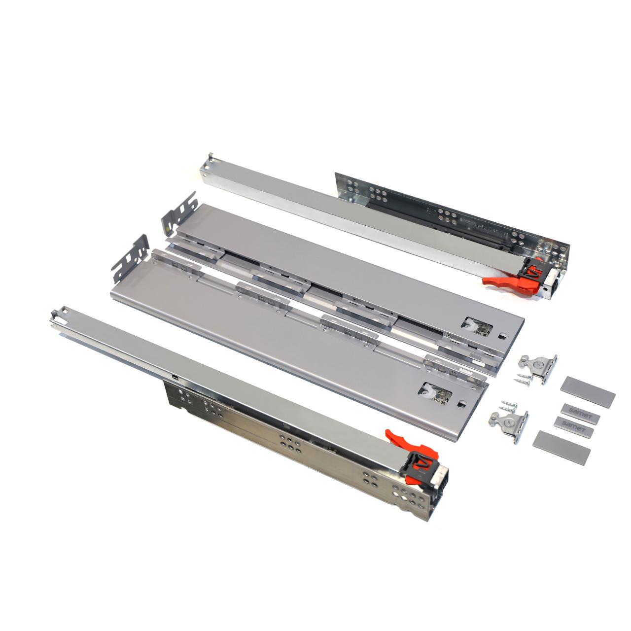 ریل کشو آرام بند صامت مدل  Alphabox GR40 سایز 40 سانتیمتری بسته 2 عددی