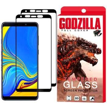 محافظ صفحه نمایش گودزیلا مدل GGF مناسب برای گوشی موبایل سامسونگ Galaxy A9 2018 بسته 2 عددی