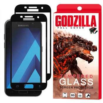 محافظ صفحه نمایش گودزیلا مدل GGF مناسب برای گوشی موبایل سامسونگ Galaxy A7 2017 / A720 بسته 2 عددی