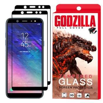 محافظ صفحه نمایش گودزیلا مدل GGF مناسب برای گوشی موبایل سامسونگ Galaxy A6 2018 بسته 2 عددی