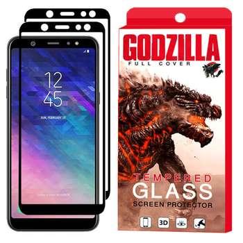 محافظ صفحه نمایش گودزیلا مدل GGF مناسب برای گوشی موبایل سامسونگ Galaxy A6 Plus 2018 بسته 2 عددی