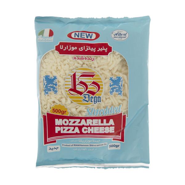 پنیر پیتزا موزارلا منجمد دگا - 500 گرم