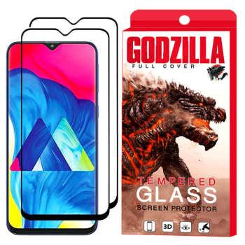 محافظ صفحه نمایش گودزیلا مدل GGF مناسب برای گوشی موبایل سامسونگ Galaxy M10 بسته 2 عددی