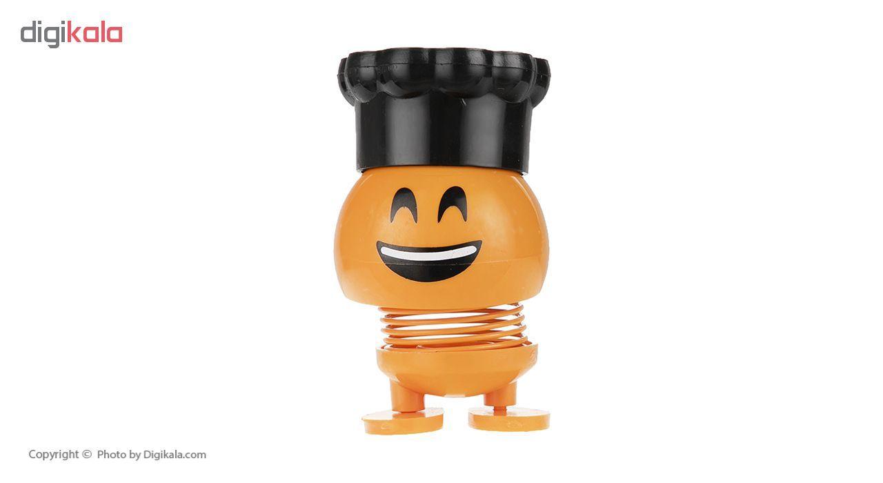 عروسک فنری   طرح ایموجی کلاه دار مدل M-77-777 main 1 3