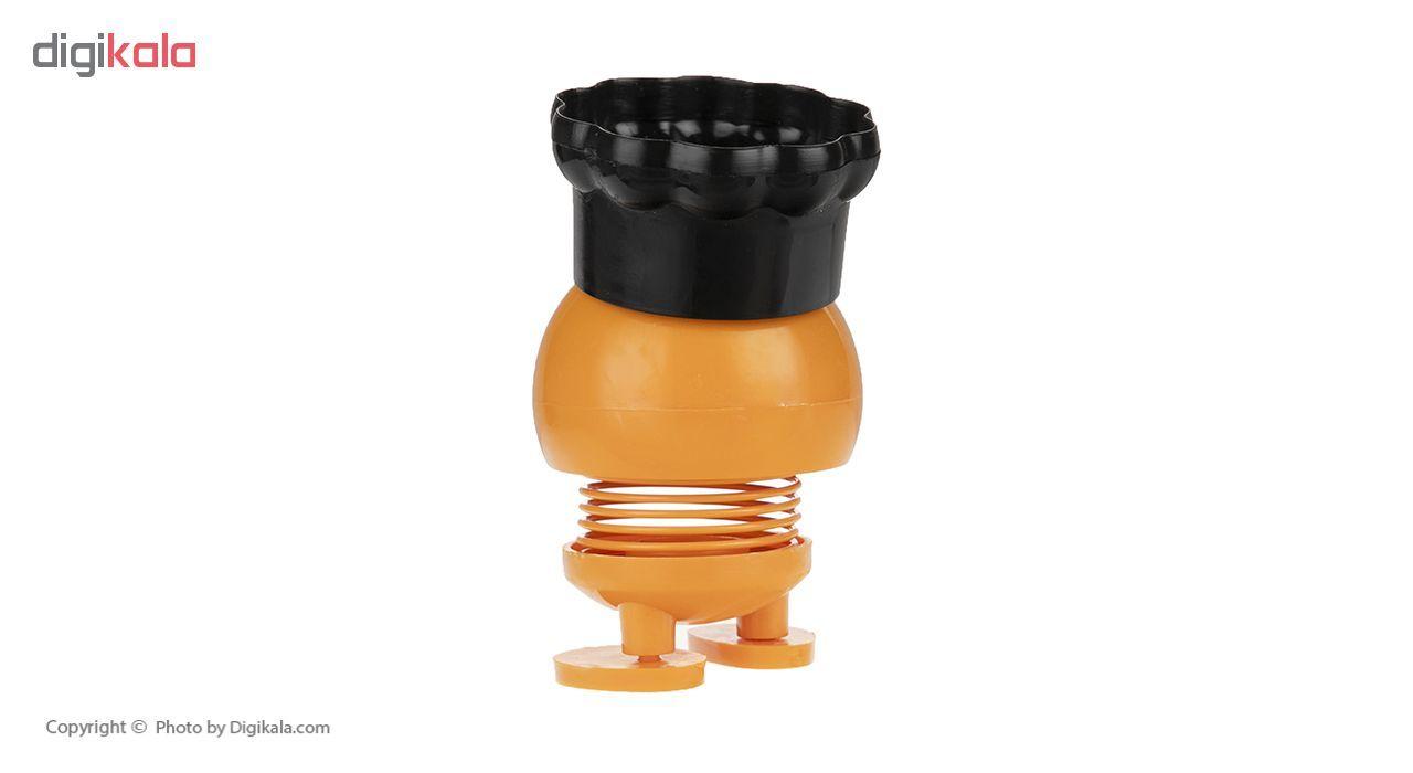 عروسک فنری   طرح ایموجی کلاه دار مدل M-77-777 main 1 4