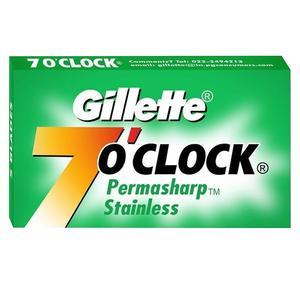 تیغ یدک ژیلت مدل 7 O clock بسته 5 عددی