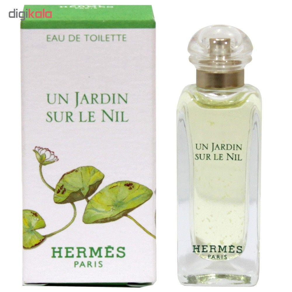 خرید اینترنتی عطر جیبی هرمس مدل Un Jardin Sur Le Nil حجم 7.5 میلی لیتر اورجینال