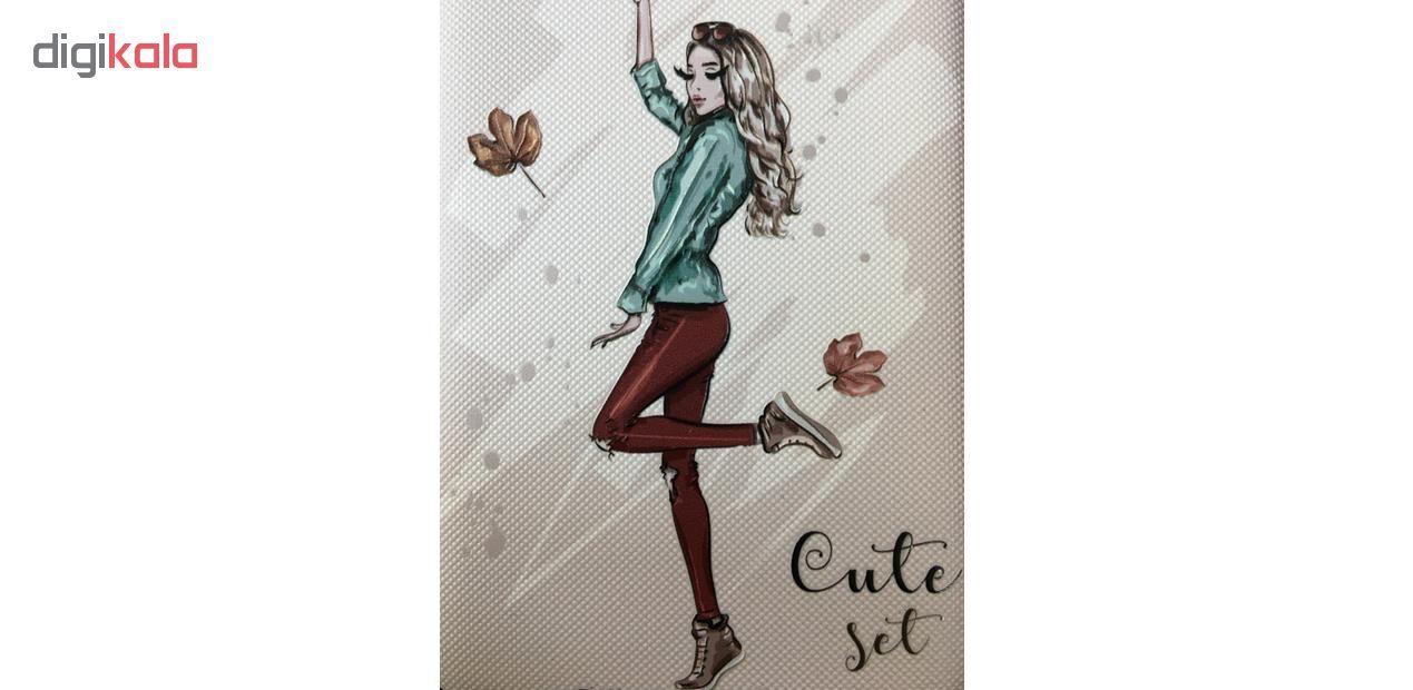 کاور مدل Beauty طرح Cute Set مناسب برای گوشی موبایل سامسونگ Galaxy J4 2018 main 1 11
