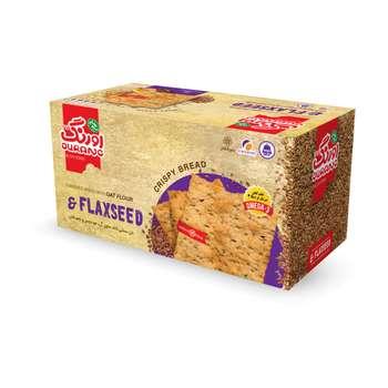 نان سنتی کاک حاوی آرد جودوسر با تزیین کتان اورنگ مقدار 400 گرم