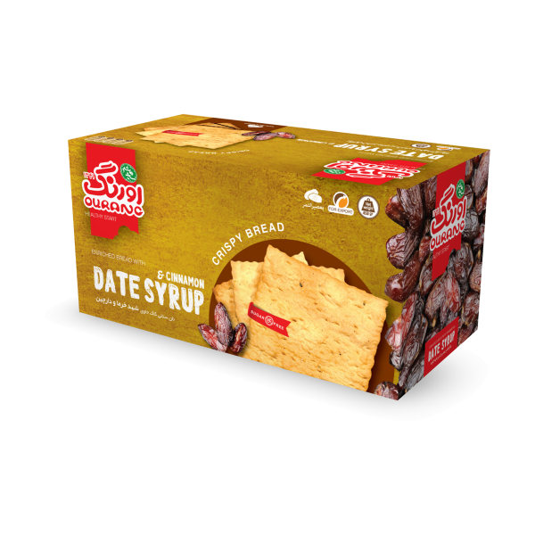 نان سنتی کاک شهد خرما با طعم دارچین اورنگ مقدار 450 گرم