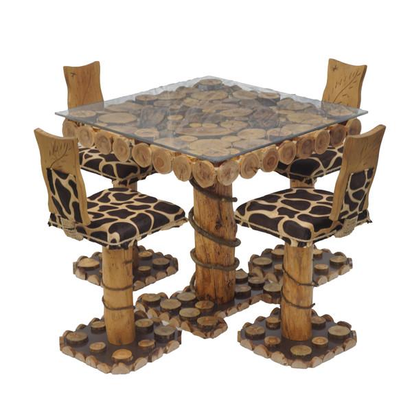 میز و صندلی ناهار خوری مدل mspg4