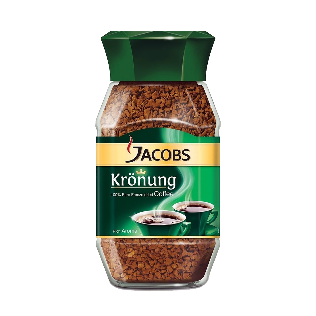 قوطی قهوه فوری جاکوبز مدل مونارک مقدار 200 گرم