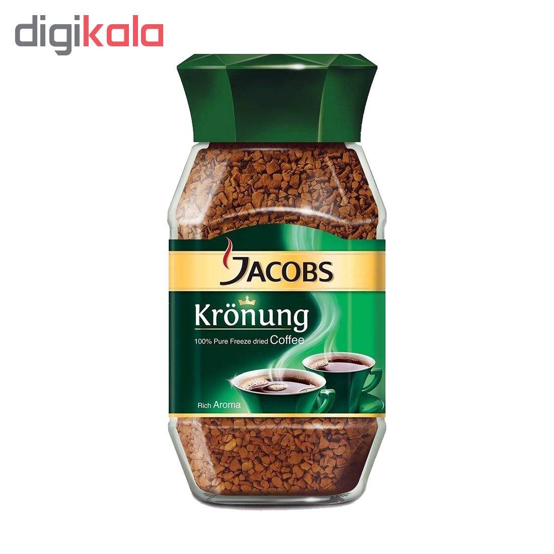 قوطی قهوه فوری جاکوبز مدل مونارک مقدار 200 گرم main 1 1