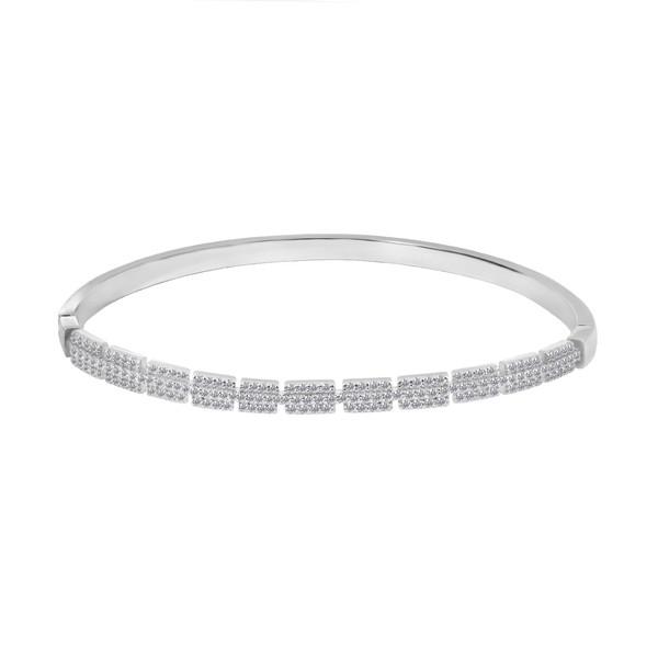 دستبند نقره زنانه اقلیمه کد DN441