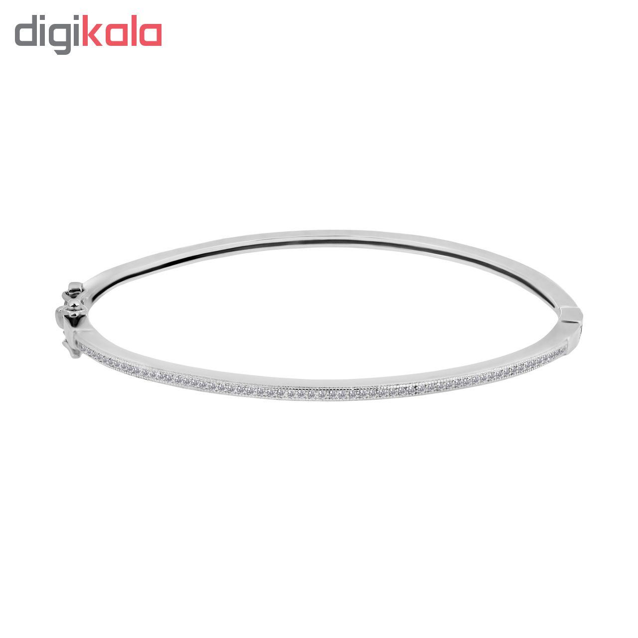 خرید                                      دستبند نقره زنانه اقلیمه کد DN442