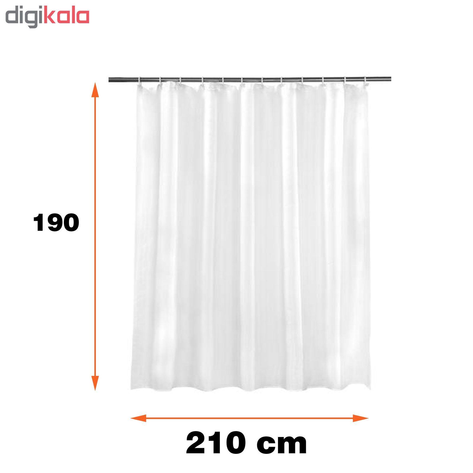پرده حمام پیسو سایز  190×210 سانتی متر main 1 2