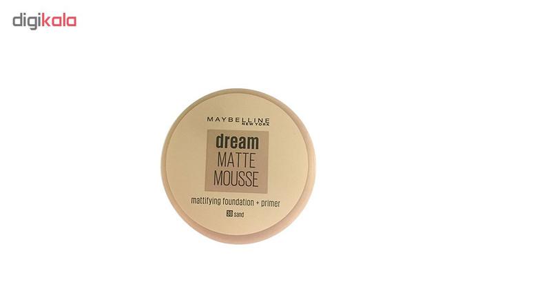 موس میبلین مدل Dream Matt Mousse شماره 30
