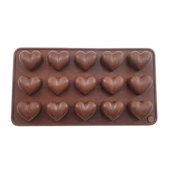 قالب شکلات طرح قلب کد h112