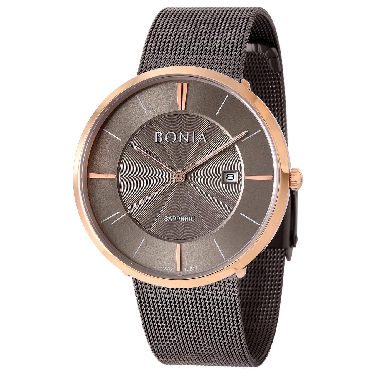 کد تخفیف                                      ساعت مچی عقربه ای مردانه بونیا کد BNB10547-1542