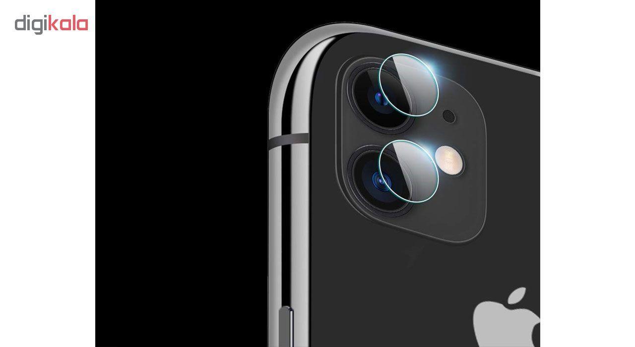 محافظ لنز دوربین هورس مدل UTF مناسب برای گوشی موبایل اپل iPhone 11 بسته دو عددی main 1 10