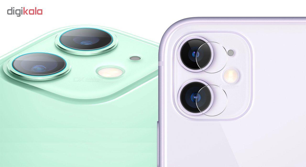 محافظ لنز دوربین هورس مدل UTF مناسب برای گوشی موبایل اپل iPhone 11 بسته سه عددی main 1 3
