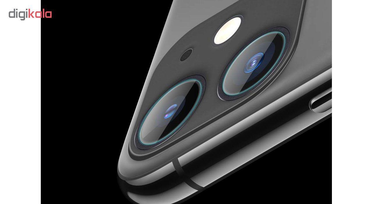 محافظ لنز دوربین هورس مدل UTF مناسب برای گوشی موبایل اپل iPhone 11 بسته سه عددی main 1 4