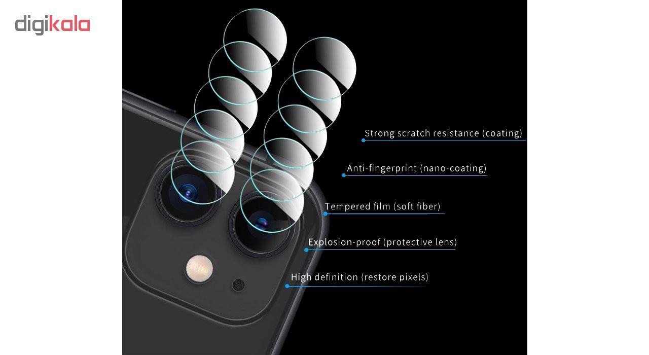محافظ لنز دوربین هورس مدل UTF مناسب برای گوشی موبایل اپل iPhone 11 بسته سه عددی main 1 7
