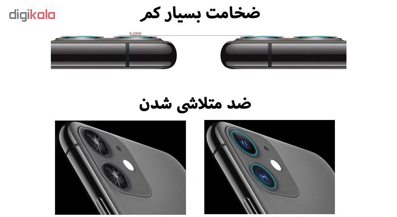 محافظ لنز دوربین هورس مدل UTF مناسب برای گوشی موبایل اپل iPhone 11 بسته سه عددی main 1 9