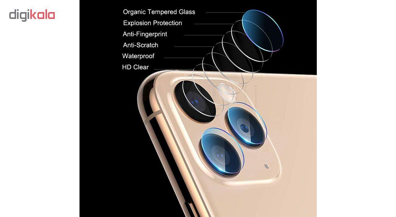 محافظ لنز دوربین هورس مدل UTF مناسب برای گوشی موبایل اپل iPhone 11 Pro بسته دو عددی main 1 8