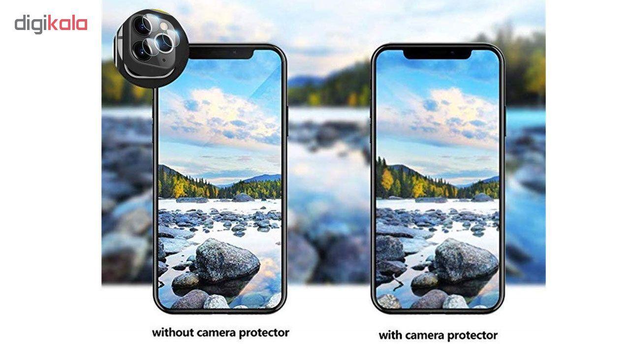 محافظ لنز دوربین هورس مدل UTF مناسب برای گوشی موبایل اپل iPhone 11 Pro بسته دو عددی main 1 11