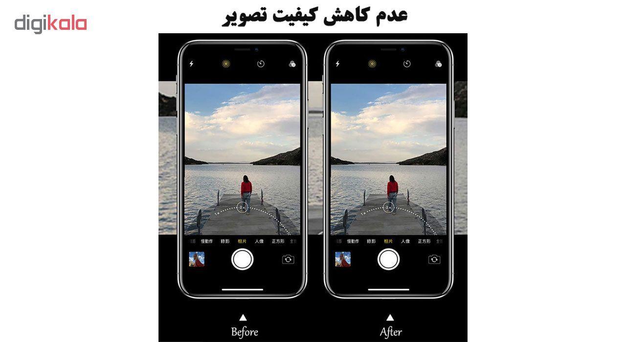 محافظ لنز دوربین هورس مدل UTF مناسب برای گوشی موبایل اپل iPhone 11 Pro بسته دو عددی main 1 12