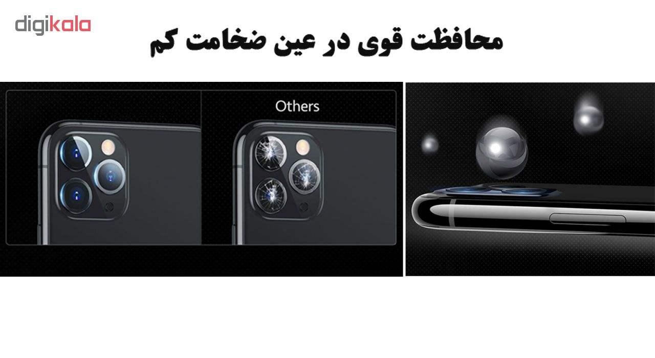 محافظ لنز دوربین هورس مدل UTF مناسب برای گوشی موبایل اپل iPhone 11 Pro بسته سه عددی main 1 6