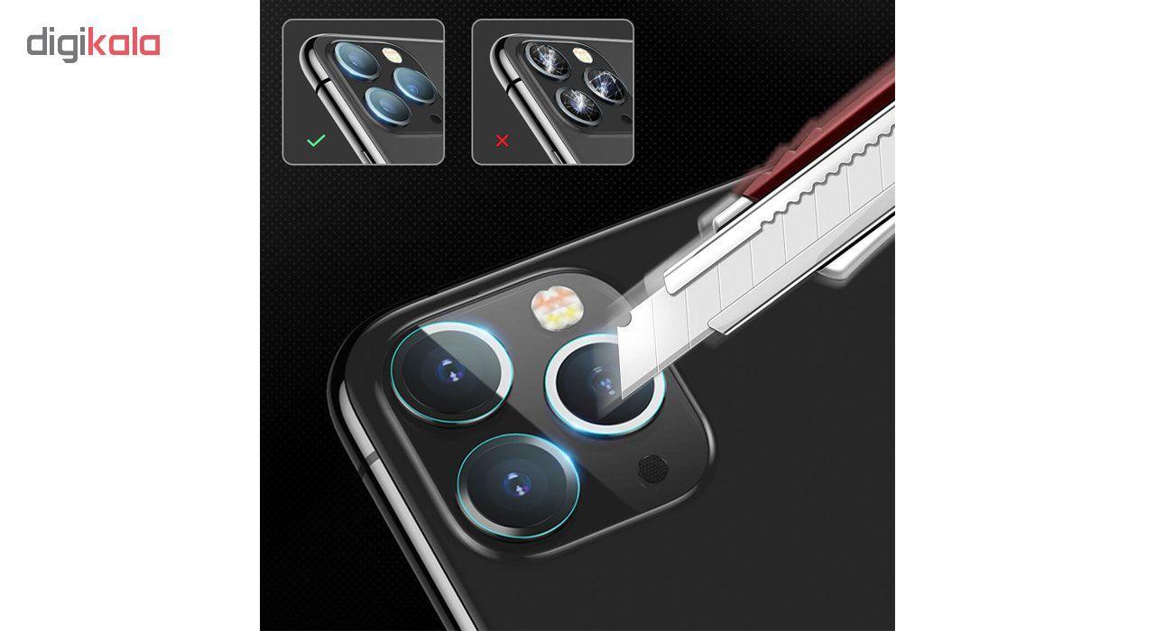 محافظ لنز دوربین هورس مدل UTF مناسب برای گوشی موبایل اپل iPhone 11 Pro Max بسته دو عددی main 1 4