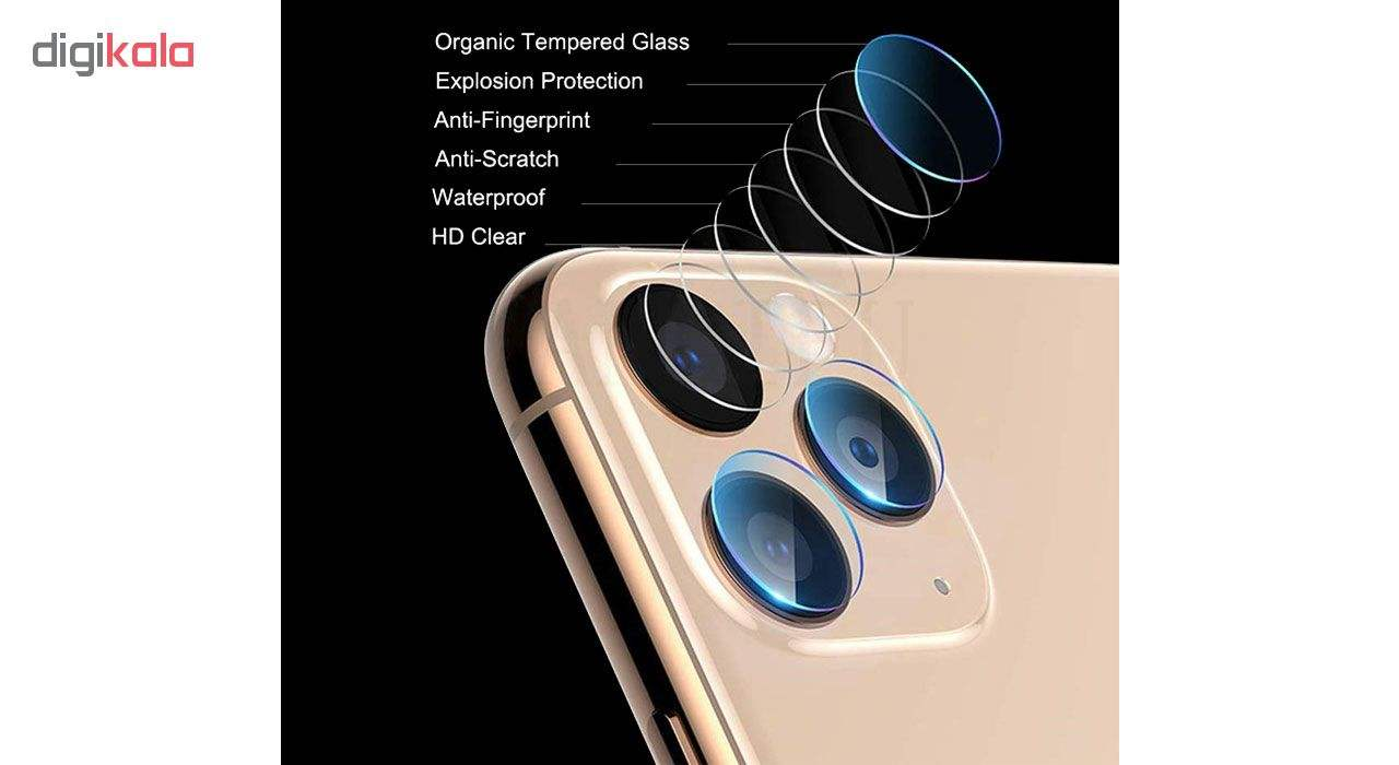 محافظ لنز دوربین هورس مدل UTF مناسب برای گوشی موبایل اپل iPhone 11 Pro Max بسته دو عددی main 1 8