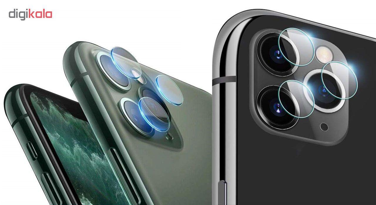 محافظ لنز دوربین هورس مدل UTF مناسب برای گوشی موبایل اپل iPhone 11 Pro Max بسته دو عددی main 1 14